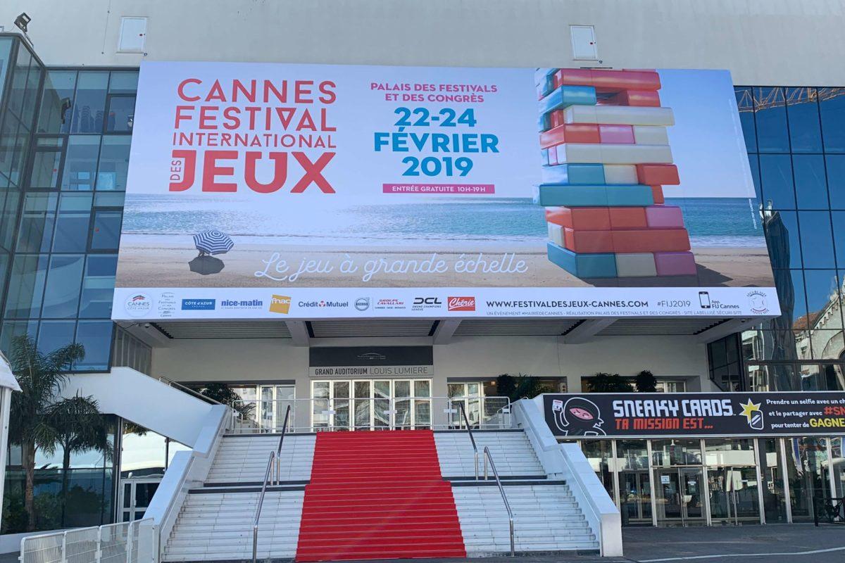 Bilan en famille du Festival du jeu de Cannes 2019