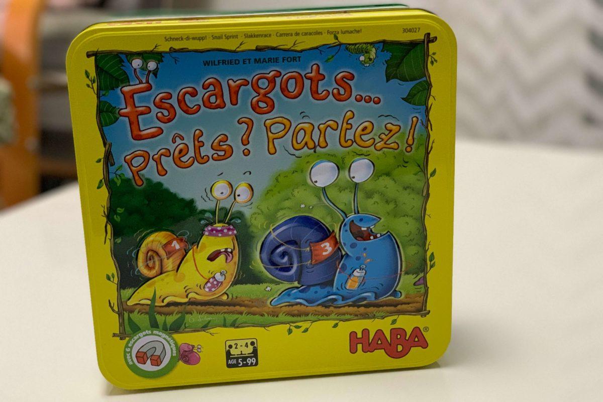 Escargots… Prêts ? Partez !