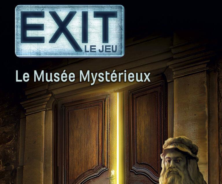Exit le jeu, le musée mystérieux