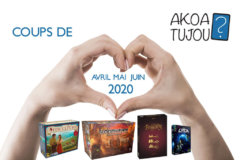Nos coups de cœur de Avril à Juin 2020
