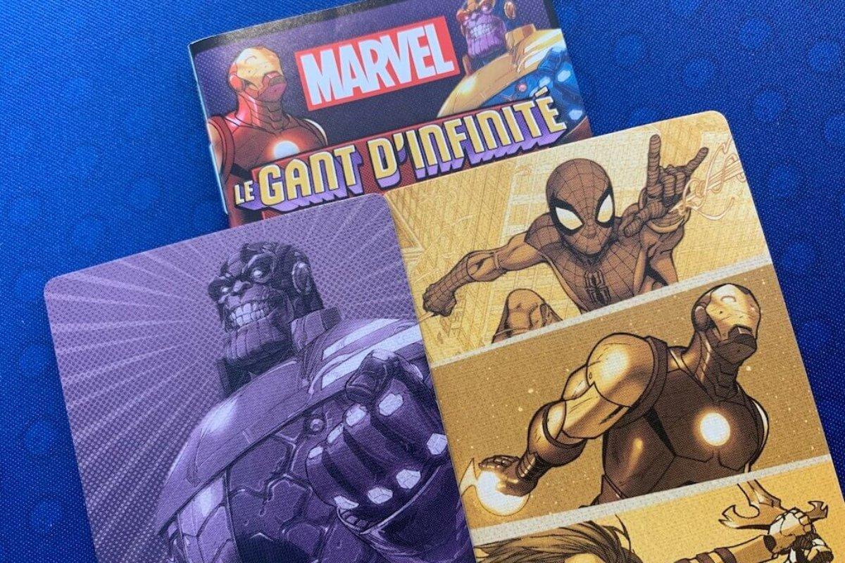 Le gant d'infinité : un jeu Love Letter (Marvel)