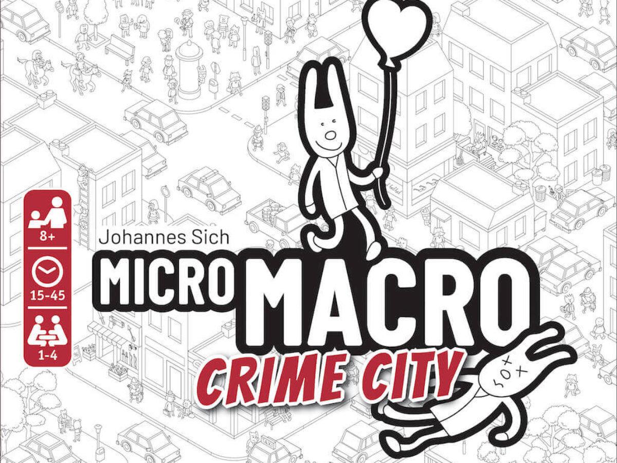 Micro Macro Crime City - Test jeu de société - Akoa Tujou