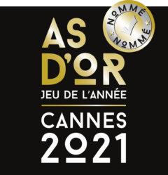 Les 12 nommés pour l'As d'Or – Jeu de l'année 2021
